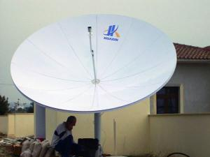 3.7m C-band, Ku-band Rx Only Antenna