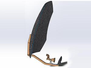 1.2m Ku-band Carbon Fiber Reflector